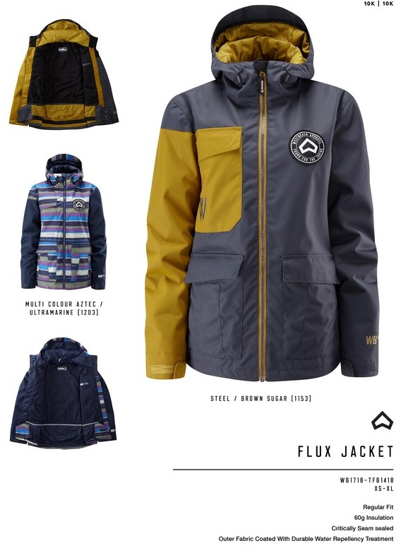 8540075b57 Women's Westbeach Melody Overhead Steel Snowboard Jacket